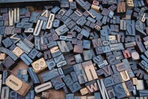Letters, unspash